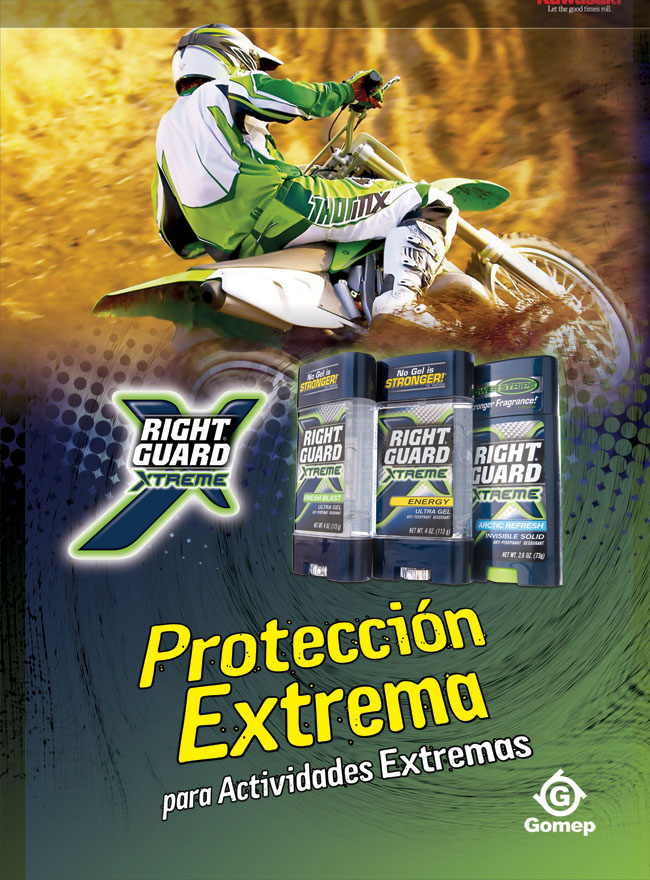 Right Guard Diario Libre. 2007